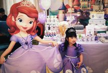 Princess sofia bday party / Chelsea turning 4