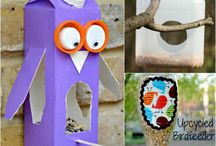 Recycled crafts / by Patty Marr