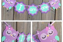 Owl ideas for first birthday