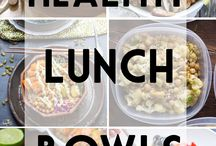 Lunch bowls