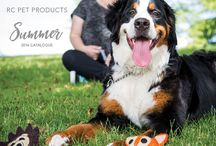"2016 Summer Catalogue / In July of 2016 RC Pet Products published their summer catalogue. Highlights included the launch of a new brand, RC Pets Toys, and the first collection from that brand, ""Wooly Wonks"".   RC Pets also released ""Bark Notes"", a new way of communicating your dog's key personality traits to other pet guardians."