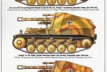 WW2 - WESPE / Wespe (pol. osa) – niemieckie samobieżne działo polowe z okresu II wojny światowej bazowane na podwoziu czołgu PzKpfw II.