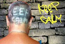 Disegni sui capelli: uno stile personale per comunicare! / Disegno sui capelli realizzato dal Salone Pazza Idea di Roma Tuscolana. Model: Paola