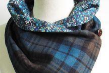 šály, šázky, kravaty