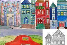 Οικοδομές σπίτια