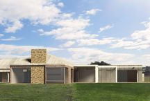Bellbrae Country Retreat / PDA's brief; to lighten and open up the existing design and provide additional living zones and entertaining areas by way of small extension.  PDA's solution: re-design within existing roof-line, small extension to accommodate reconfiguration of bedrooms and additional living area/rumpus room using clean lines and plenty of glass. In addition, a strong connection to the garden and outdoors, with full height glazed doors and expansive timber decking areas.