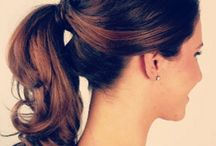 Hair in waves.  / Beautiful Hairstyles for Beautiful Hair.