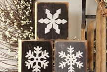Snowflakes blocks