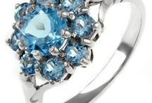 Cold as Ice Collection / Explore the icy gems exclusive to Mr Harold & Son. From Swiss blue topaz to delicate aquamarine.