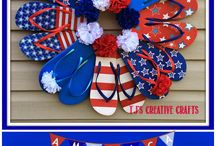 Flip Flop Wreath / by Michele Mezrah
