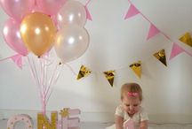 uitnodiging eerste verjaardag Madelief