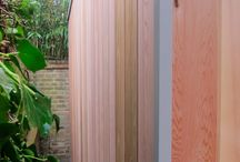 Cladding Options / Western Red Cedar or Cedral Weatherboard or HardiePlank - choose a cladding that fits best into your garden surroundings.