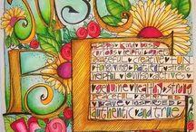 Art journal inspiratie