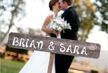 Wedding Signage  / by Steph Morey