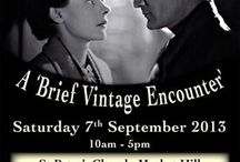 A Brief Vintage Encounter / Rural Magpie enjoyed a great day at this event 7.9.2013