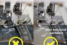 Sewing Tips / Making sewing easier!