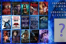 Contest Banners / Chance to win when some fantastic prizes, signed paperbacks, gift cards and free e-books. Contest don't last long so enter while you can.