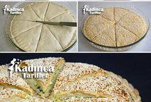 mutfaktakiler: tuzlular, börek ,kurabiye ,kahvaltılık