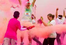 C'est la fête :) / Les runs colors!!