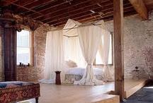 bedrooms / by Karyn Steele