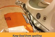 Food Storage Tips / Tips on how to prolong the life of your foods etc
