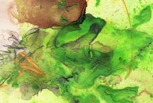 Froschbilder / Hier sehen Sie diverse Froschbilder, die ich je auf Malpappe malte. Sei es als Auftrag oder weil mir danach war :-). / by Conny Wachsmann