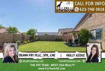 SOLD! Great Location Greenway Parc Community / 15553 W Mauna Loa Lane, Surprise, AZ 85379 | 3 Bed | 2 Bath | 1,523 Square Feet
