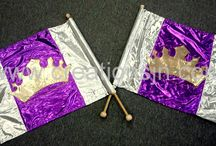worship flags