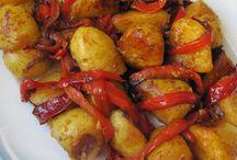 Pommes de terre / A l'espagnole