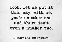 Mr. Chinaski / A tribute to Charles Bukowski. (August 16, 1920 - March 9, 1994)