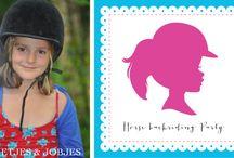 Horse Backriding Girl Theme Party ♥