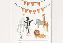 Cumpleaños - Invitaciones - / Las invitaciones de cumpleaños son un recordatorio precioso que a los niños les encanta repartir entre sus amiguitos. Y si son así de bonitas mejor ¿no crees?
