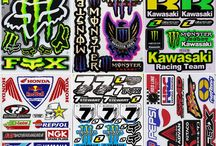 Quad stickers