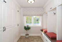 Entries and Mudrooms / Custom entry and mudroom cabinets by Modern Design Cabinetry.