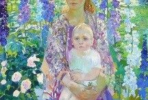 Art about Mother and Child