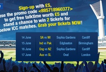 ICC Champions Trophy FREE Ticket!