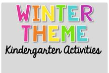 Winter Theme {Kindergarten Activities} / Winter Theme Activities (snow, mittens, cold, clothes) Art, Science, Reading, Math, Writing, Technology and everything in Between