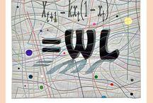 Art Series - Formulas / MIXED MEDIA ART + ART SERIES FORMULAS - textiles art | thread, fabric, plastic, metal, acrylic paint, three-dimensional