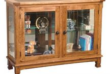 Curios / A curio is a great way to either display family heirlooms passed down from generation to generation or showing off items from your latest vacation!