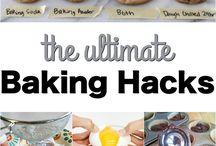 Baking, Life, Kid Hacks