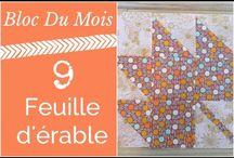 Tutoriel quilt blocs (français)