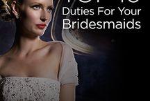 Bridesmaids duty's