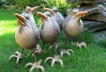 Keramik vögel