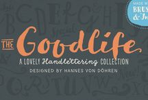 Goodlife / The Goodlife Type Family designed by Hannes von Döhren