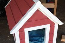 Dog house for oreo