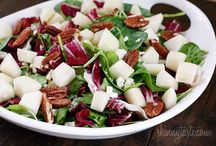 Delectable Salads Blog Posts & Recipes / These pins are a list of delectable salads recipes and blog posts / by Kim Murray