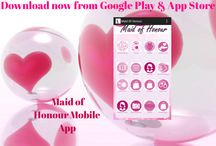 We Promote: Maid of Honour / The Maid of Honour App is what every Girl needs! Download here.. https://play.google.com/store/apps/details