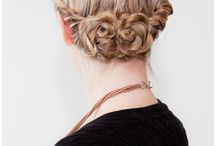 Hairstyles / Updos and hairstyles / by Rachel Travers