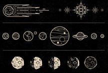 planetas y cielo