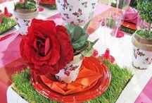 Un peu de fleurs dans mon assiette / Pour faire le plein d'idées fleuries pour vos tables, Isambourg est là !